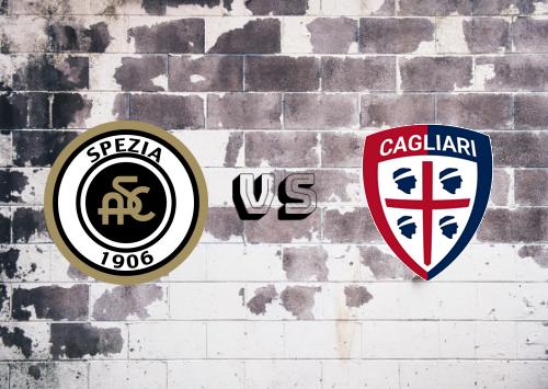 Spezia vs Cagliari  Resumen
