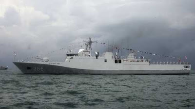 Indian Navy and Vietnam People's Navy Held Exercise