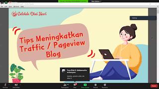 Bongkar rahasia page view dalam blogging