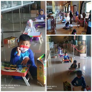 Pemerintah Kabupaten Lingga Dinas kebudayaan Mengadakan Lomba mewarnai Tingkat PAUD dan TK  Sekecamatan Lingga