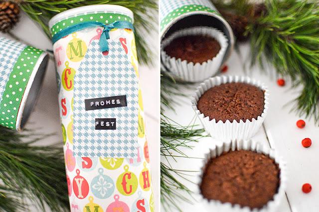 Muffins Geschenkverpackung