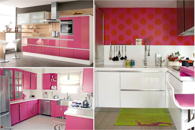 Top 20 Pink Kitchens