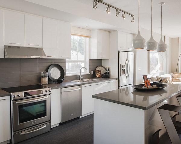 Desain kitchen set kumpulan model rumah minimalis for Kitchen set unik