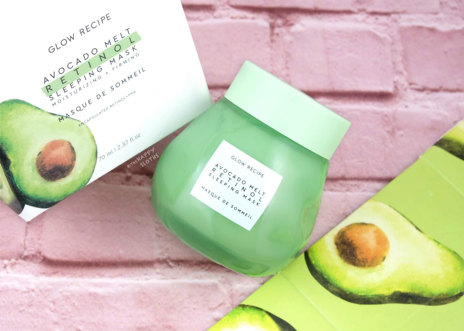 Glow Recipe | Avocado Melt Retinol Sleeping Mask: Review