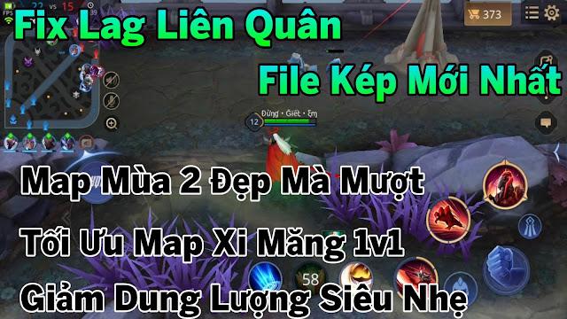 Fix Lag Liên Quân Giảm Lag Bằng File Map Mùa 2 Siêu Mượt, Tối Ưu Map Xi Măng 1v1 | HQT CHANNEL