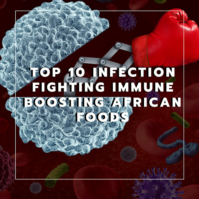 Top 10 African Immune Boosting Foods for Infection Prevention and Fighting Backed By Research and Science