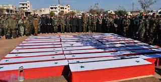 Rezim Syiah Nushairiyah Kubur 31 Tentara Tanpa Identitas