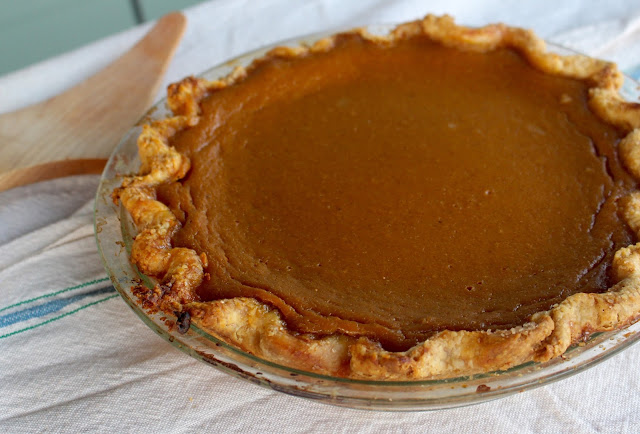 One-Pie Pumpkin Pie | Nothing in the House
