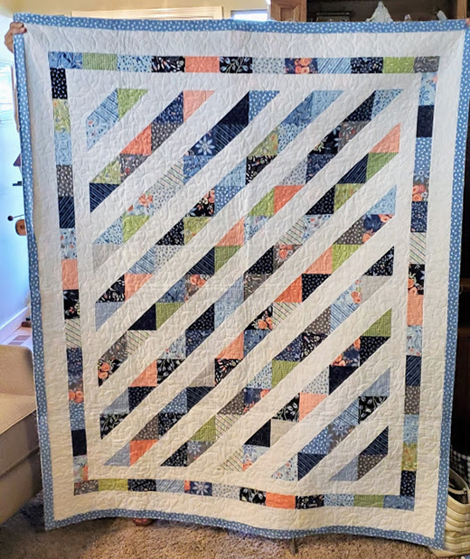 Charmalade Quilt Designed by Pam Lincoln of Mama Spark's World