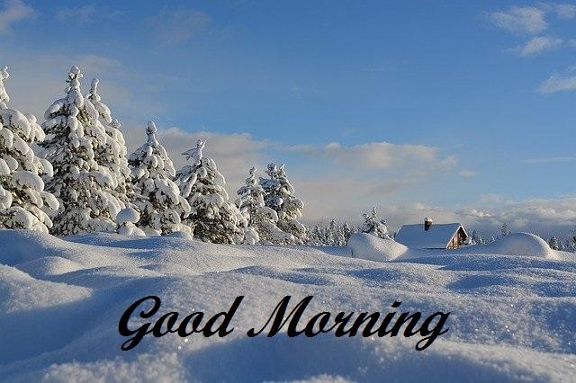 good morning mountain images
