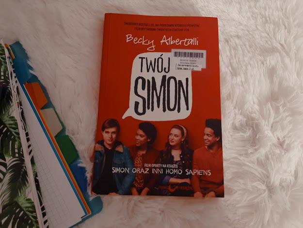 """""""Twój Simon"""" Becky Albertalli"""
