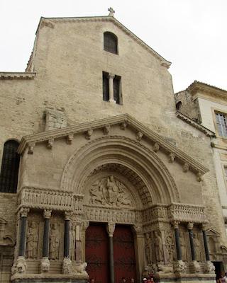 Iglesia de Saint Trophime. Arlés. La Camarga