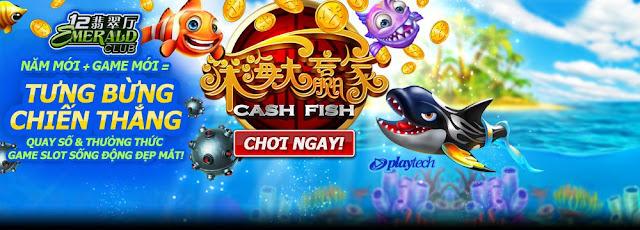 Tiền thắng sẽ nhiều hơn trong slot: Cash Fish