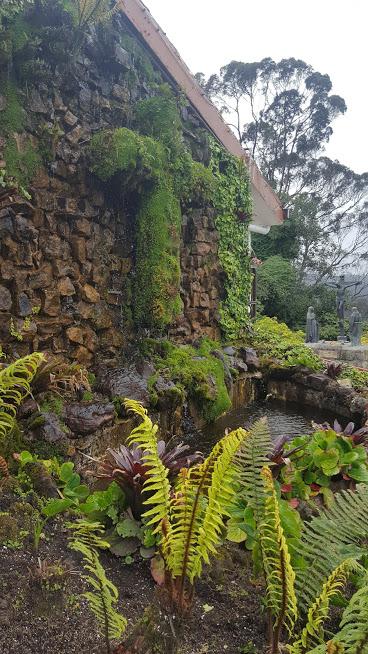 Uma das fontes no Cerro de Monserrate - Bogotá