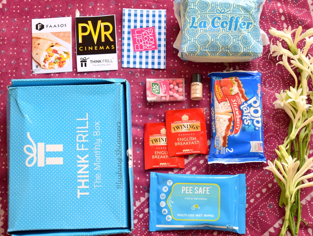 Think Frill Queen Coffer Box August Review
