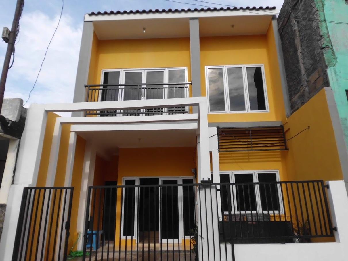 Hasil proyek Renovasi pengembangan rumah 1 lantai menjadi 2 lantai milik Bpk RismonSepdwianto di Bukit Asri Ciomas, Bogor tahun 2010