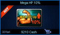 Mega HP 10%