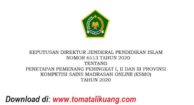 sk daftar pemenang juara ksmo ksm online kemenag mi mts ma tahun 2020 tingkat provinsi pdf tomatalikuang.com.jpeg