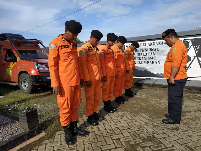 Basarnas Bone Bantu BPBD Wajo Lakukan Pencarian Orang Tenggelam di Danau Tempe