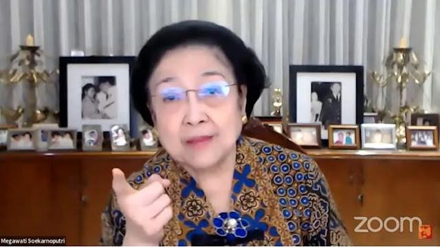 Topeng Megawati Terbuka! Ucapkan Dirgahayu Partai Komunis ke-100 Hingga Sebut Sahabat