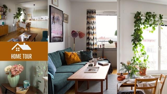 Ένα retro και ...καταπράσινο σπίτι
