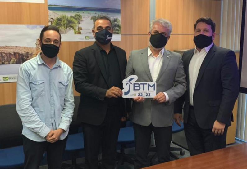 Confirmada parceria do MINISTÉRIO DO TURISMO e BTM - BRAZIL TRAVEL MARKET