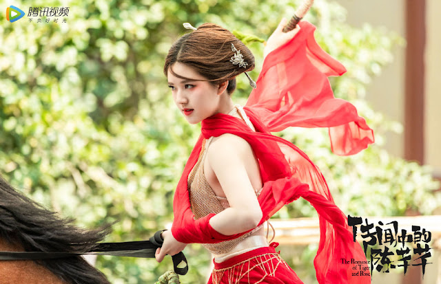 The Romance of Tiger and Rose Star Zhao Lusi Talks About Acting in Sweet Romance Dramas