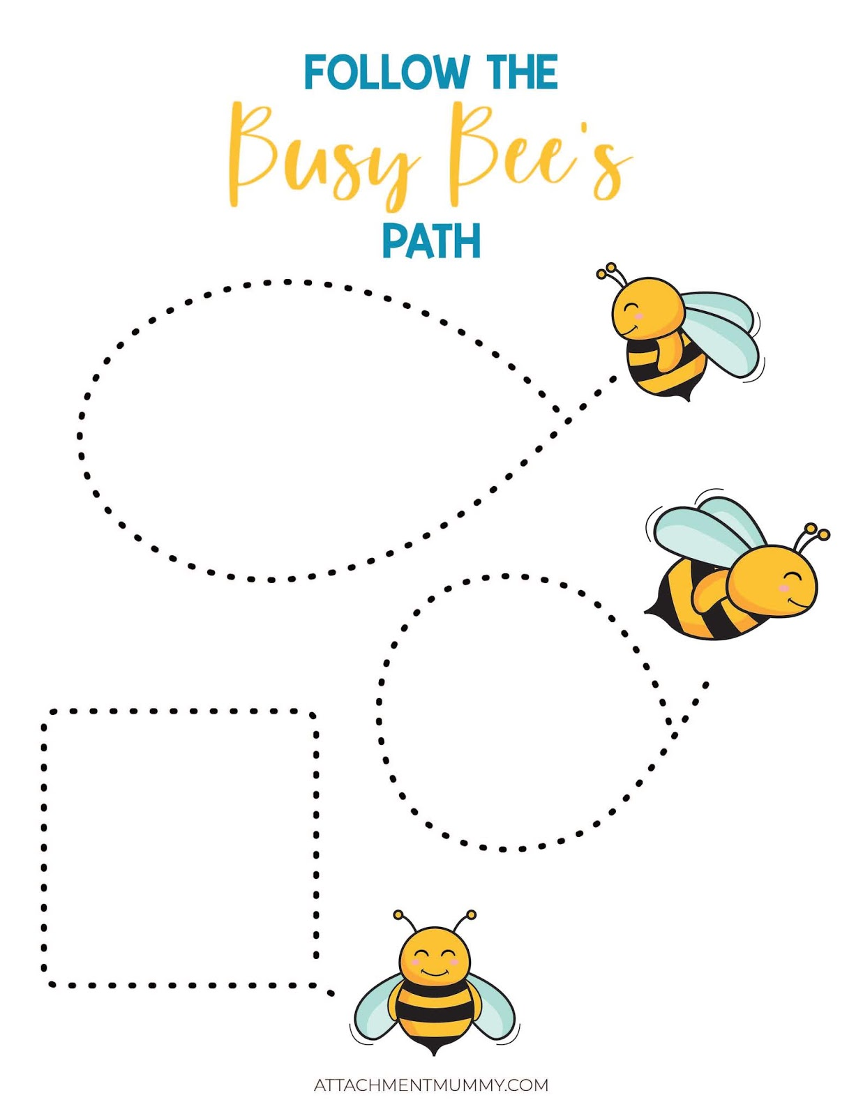 Free Busy Bee Colouring And Activity Pack Printable For Kids