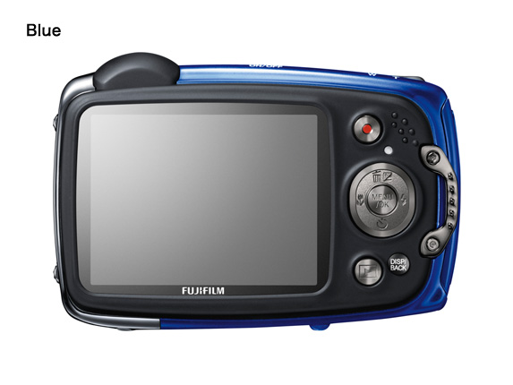Fuji FinePix XP50 back