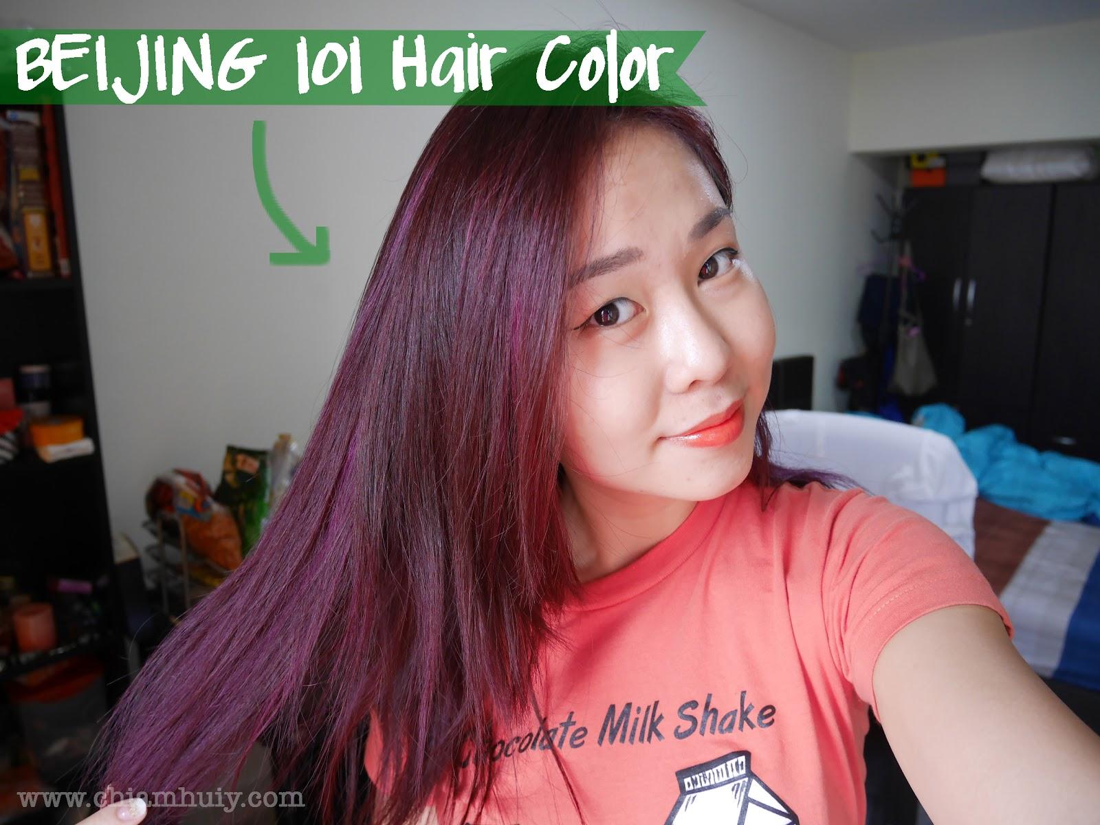 Beijing 101 Herbal Hair Dye Day  Celine Chiam