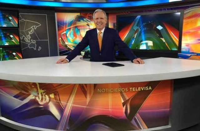 Sale López Doriga de Televisa