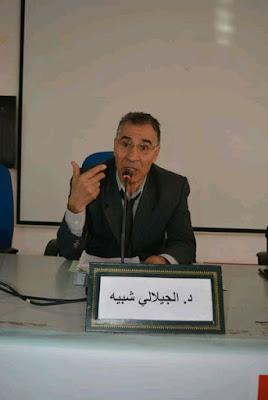 الجيلالي شبيه، أستاذ التعليم العالي في القانون، جامعة القاضي عياض، مراكش