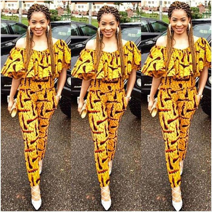 2017 Ankara High-Waist African Trousers=