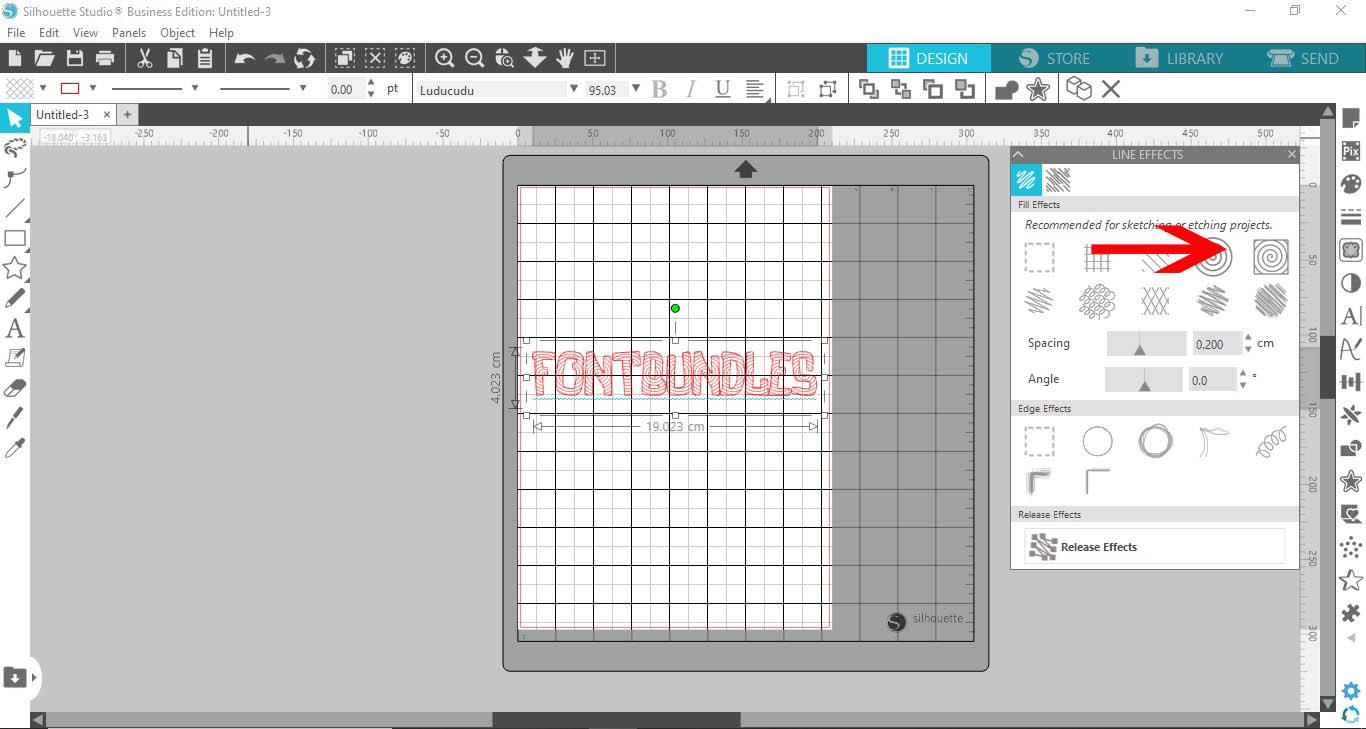 Filling Text In Cricut Design Space Using Silhouette Studio Software Design Bundles