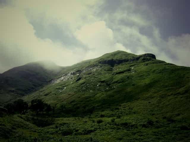 Mountain in Karjat