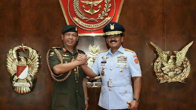 Panglima TNI Terima Courtesy Call Pangab Diraja Brunei
