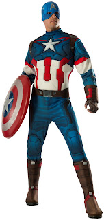 Avengers 2 - Age of Ultron: Captain America Deluxe Adult Costume