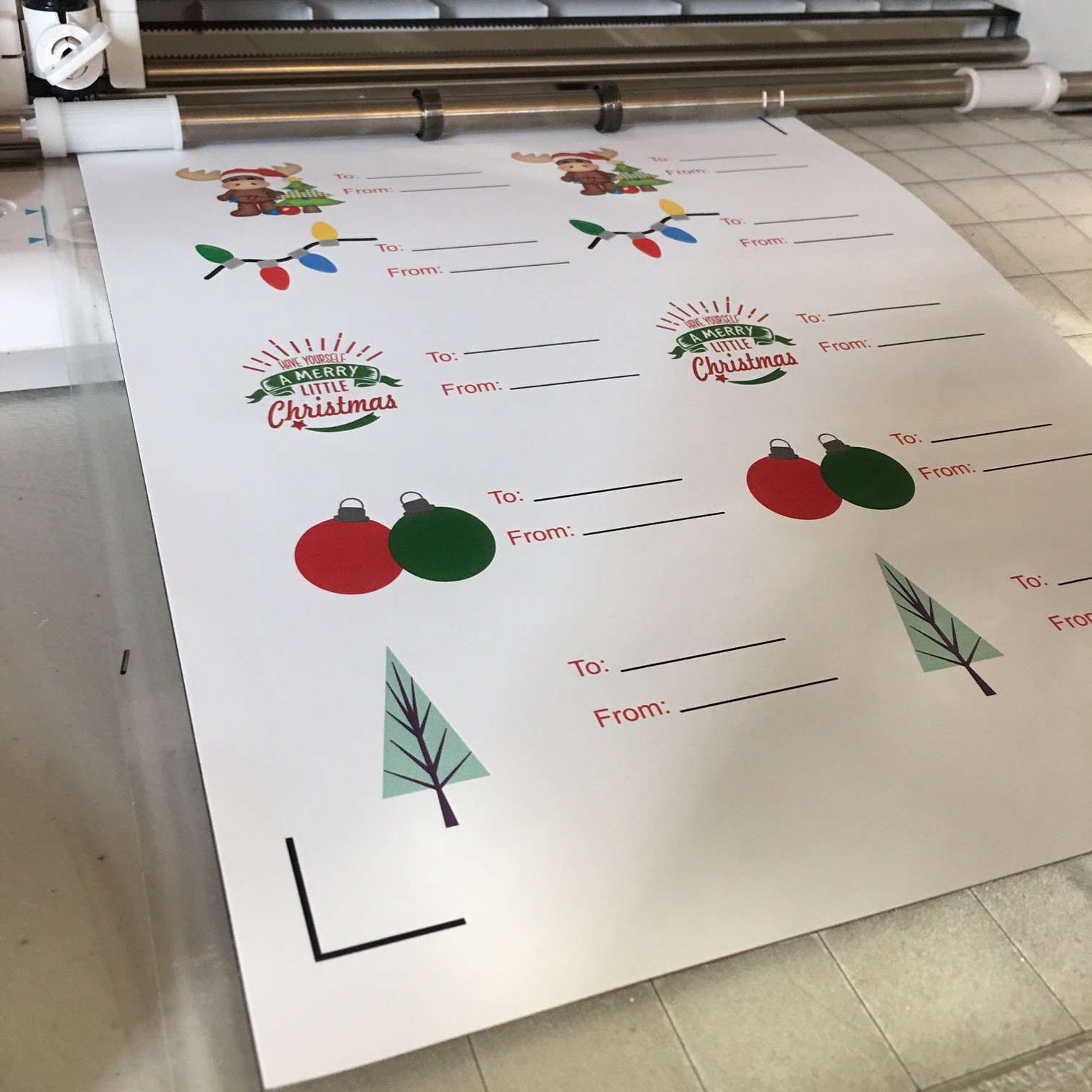Free set of christmas gift tags for silhouette cameo print and cut im busy over here printing and cutting christmas gift tags on sticker paperd thought you might want to do the same so in the spirit of christmas i solutioingenieria Gallery