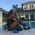 #BlackIsBeautiful  Serena Williams shares sexy pic by the pool
