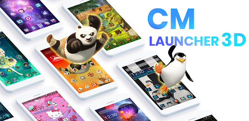تحميل تطبيق CM Launcher 3D-Theme Wallpaper v5.88.0 (Unlocked) Apk