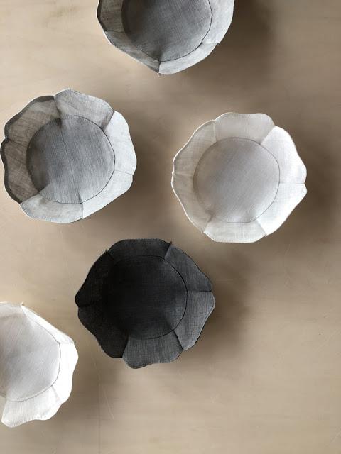 Sumiko Ishii/石井すみ子 根来形輪芯布皿