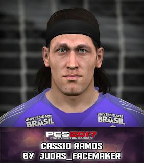 PES 2017 Faces Cassio Ramos by Judas