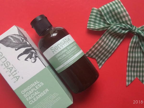 Sensatia Botanicals Original Soapless Facial Cleanser untuk Kulit Wajah Kering