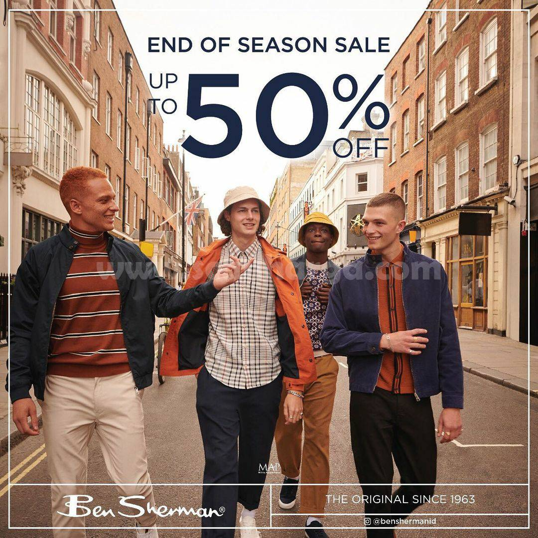 Ben Sherman End of Season Sale up to 50% Off 1