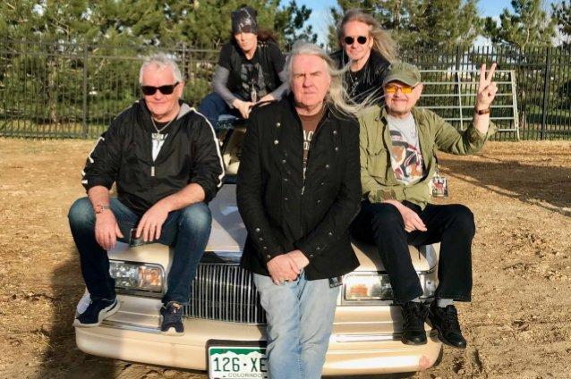 Saxon iniciam gravações do novo álbum