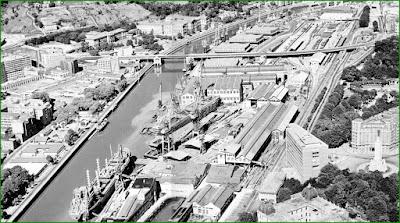 Astilleros de Bilbao. Bilbao, la ria y sus puentes