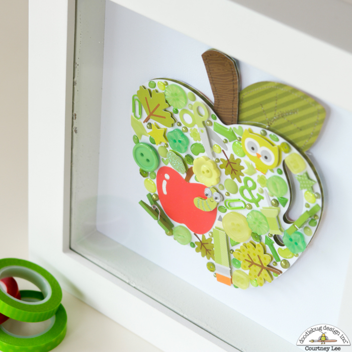Apple Home Decor: Doodlebug Design Inc Blog: Smash Up Challenge: Apple Home