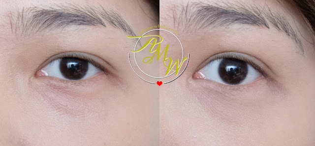 before and after photo of Lily Lolo Makeup Corrector in Peepo review by Nikki Tiu of askmewhats.com