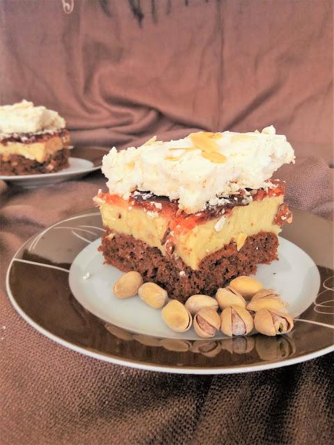 Kostka orzechowa / Nut Layer Cake
