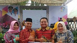 Kado Bersama Kita Bekerjasama,Kecamatan Benda Sabet 4 Piagam Penghargaan Di HUT Kota Tangerang Ke 27